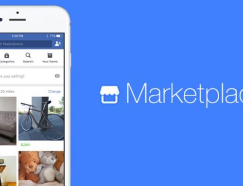 È arrivato Marketplace, l'ecommerce di Facebook