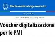 Voucher digitalizzazione: prorogato il termine per ultimare le spese