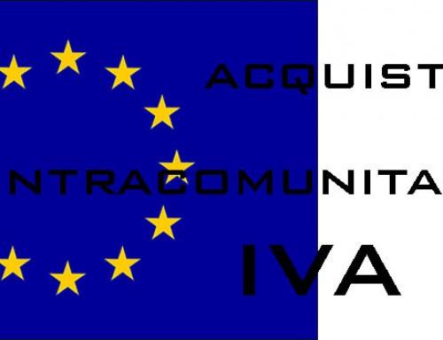 Obblighi connessi agli acquisti intracomunitari di beni